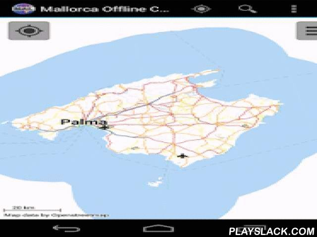 Majorca Offline City Map  Android App - playslack.com , With this app you have the map of Majorca right in your pocket! It offers an interactive map that lets you browse the city at amazing detail. Additionally, it comes with a search index for locating streets, but also other points of interest such as museums, restaurants, cafés, hotels, sights and many more. After installing the app, no internet access is required anymore, neither for browsing the map nor for using the search…