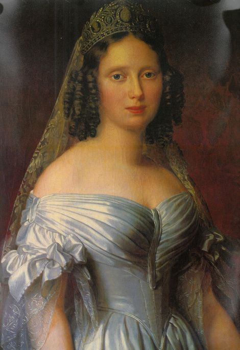 Queen Sophie of the Netherlands. c. 1840s.