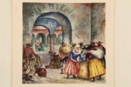 Boceto de Composición : Antonio Berni