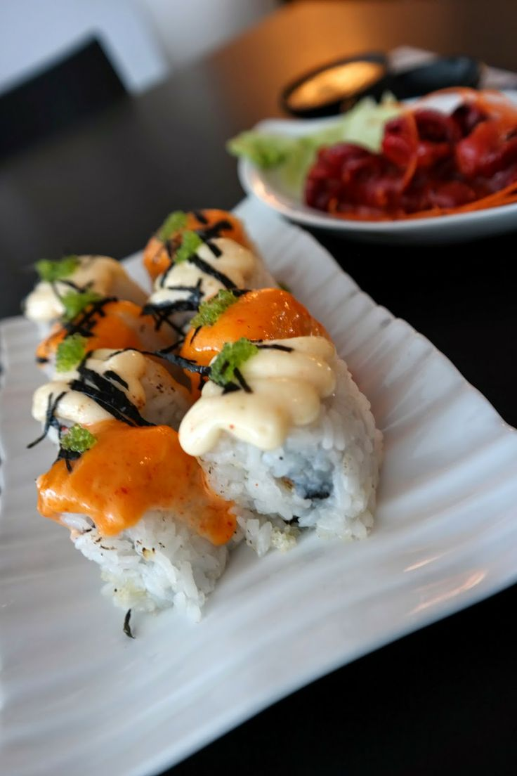 new menu at sushi - ya