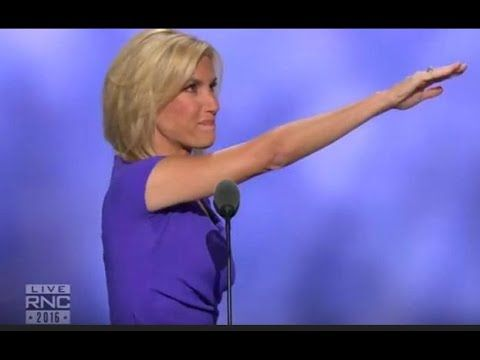 """""""LOOKS LIKE Laura Ingraham MAY HAVE GIVEN Nazi Salute at RNC Speech"""" – THE LEON KWASI CHRONICLES"""