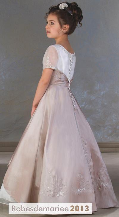 magnifique robe de princesse petite filles broderie d coration s robe princesse pinterest ps. Black Bedroom Furniture Sets. Home Design Ideas