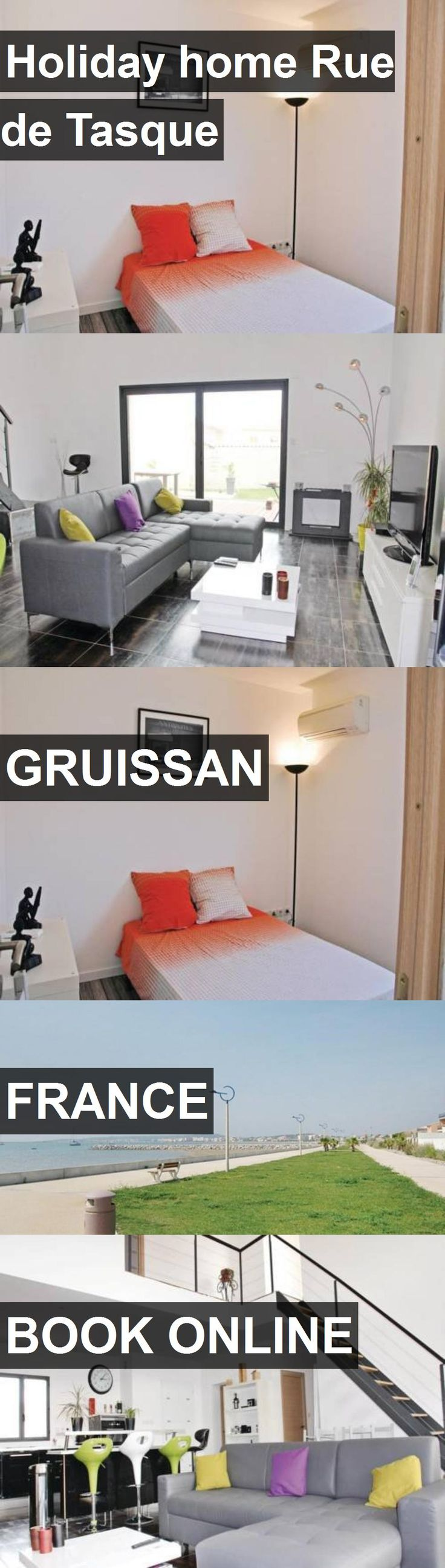 Hotel Holiday home Rue de Tasque in Gruissan, France. For more information, photos, reviews and best prices please follow the link. #France #Gruissan #travel #vacation #hotel