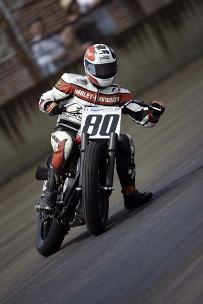 Flat Track Racing king My favorite to watch and do.