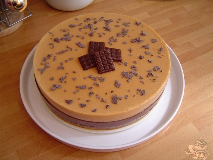 Tarta de chocolate y turrón Thermomix