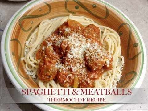 Spaghetti & Meatballs Thermochef Recipe cheekyricho