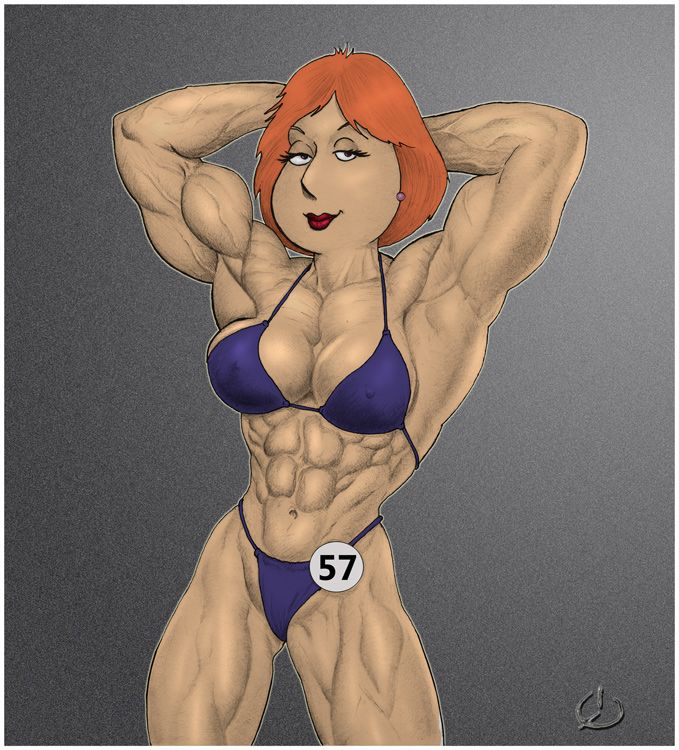 Muscle growth redhead — 15