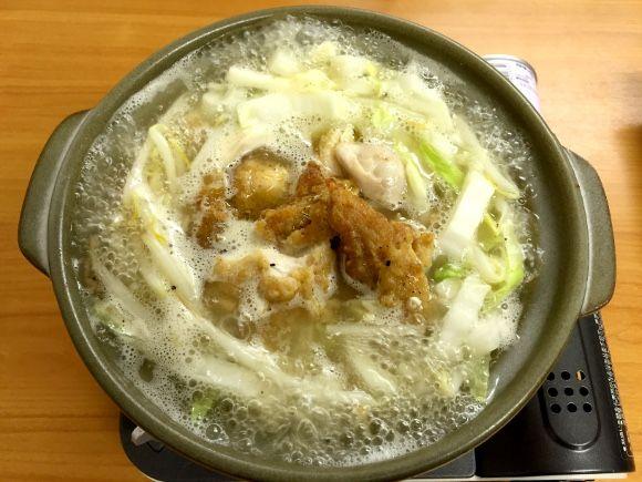 【最強レシピ】骨は捨てないで!「ケンタッキー鍋」なら濃厚な絶品スープが楽しめるヨ!!