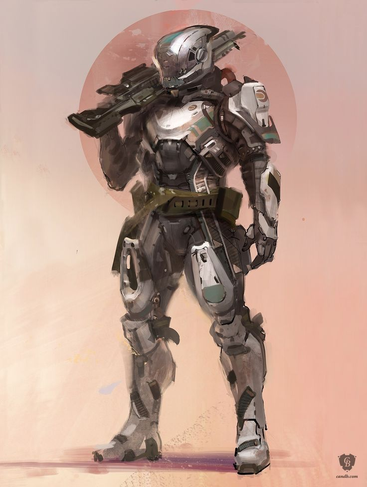 Done by ryandemita the titan is an official concept art for destiny