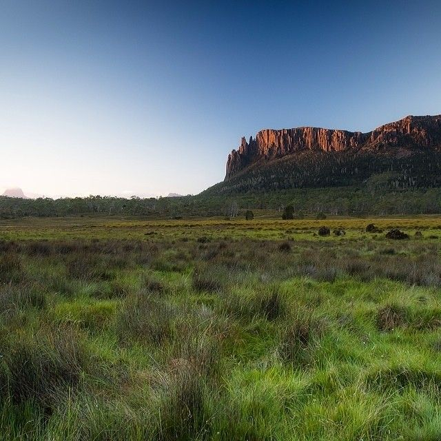 Mount Oakleigh, on the world-famous Overland Track. #walking #tasmania #overlandtrack #discovertasmania Image Credit: Cameron Blake Photography