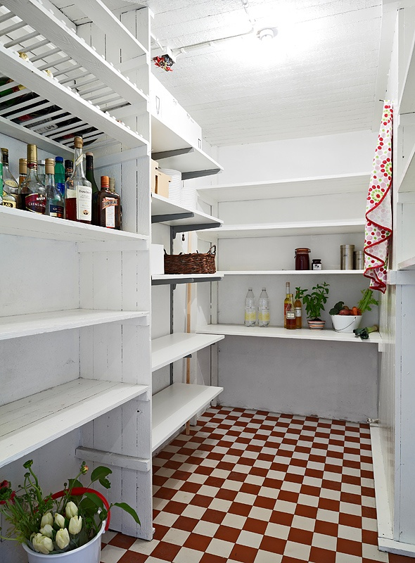 17 best images about home pantry larder cellar on for Large walk in pantry