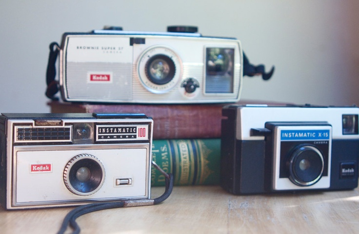 Old Instamatic Cameras Instant Collection by FalconandFinch, $40.00
