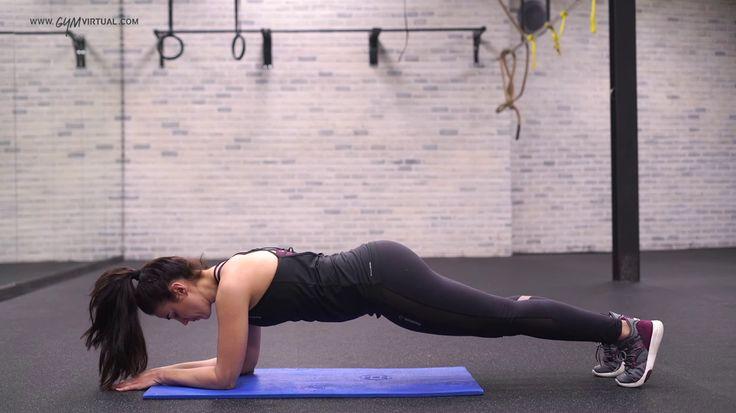 1. Realizar Plancha de 25'' a 50'' descanso 10''