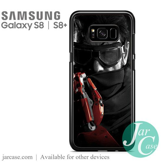 Metal Gear Solid Game Phone Case for Samsung Galaxy S8 & S8 Plus