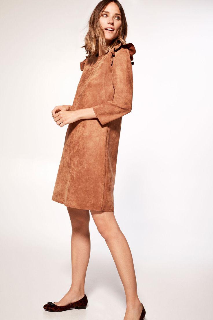 Suedette dress | Dresses and jumpsuits | Cortefiel Man & Woman