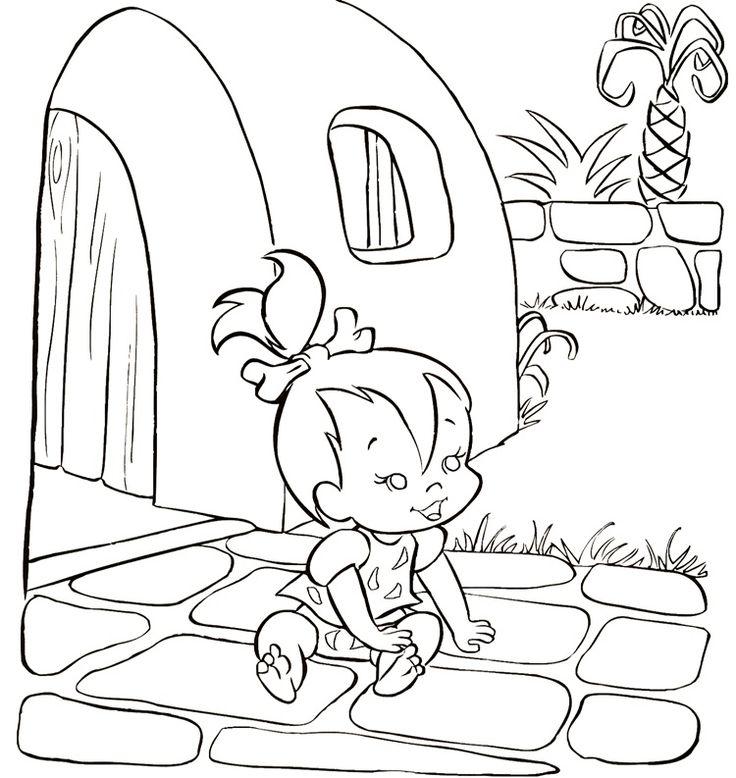 flintstones christmas coloring pages - photo#24