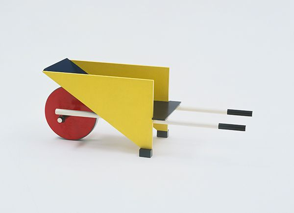 Child's wheelbarrow, 1923. Gerrit Rietveld from MOMA toys exhibit