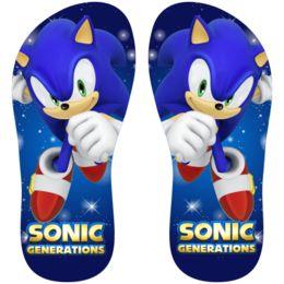 Estampa para chinelo Sonic 000944