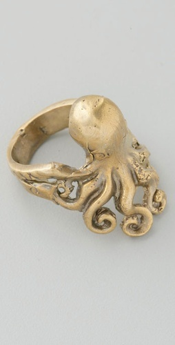 not so much, in fact not at allRings A Ding D, Coolwelri Jewelry, Jewelry Octopuses, Octopuses Rings, Jewelry Addict, Alkemie Jewelry