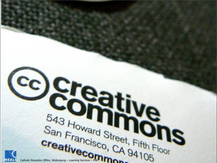 Creative Commons in our Schools