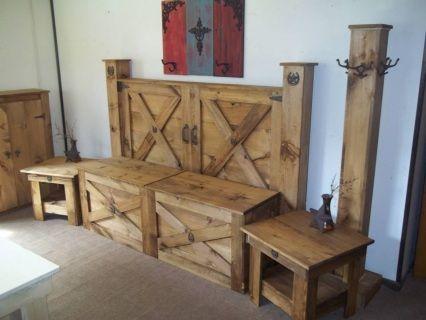Best 25+ Rustic bedroom furniture ideas on Pinterest | King bed ...