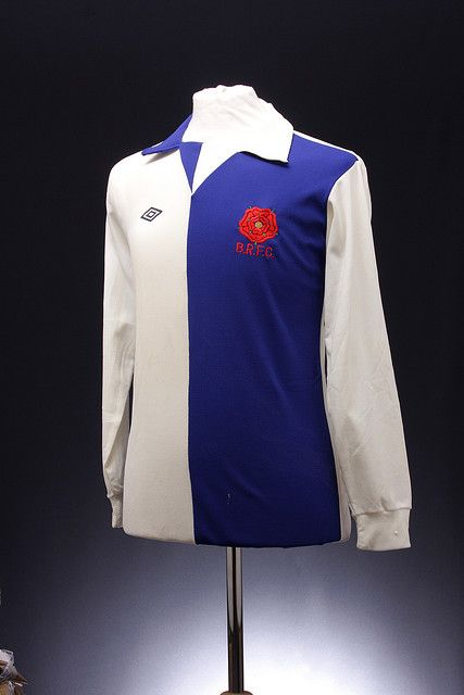 Blackburn Rovers Football Shirt (1974-77, home)