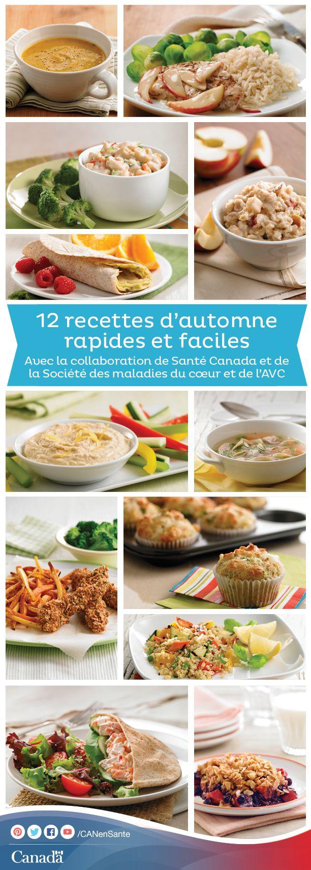 Obtenez des savoureuses recettes d'automne ici http://www.canadiensensante.gc.ca/eating-nutrition/healthy-eating-saine-alimentation/recipes-recettes/index-fra.php?utm_source=pinterest_hcdns&utm_medium=social_en&utm_content=oct29_bro18&utm_campaign=social_media_14