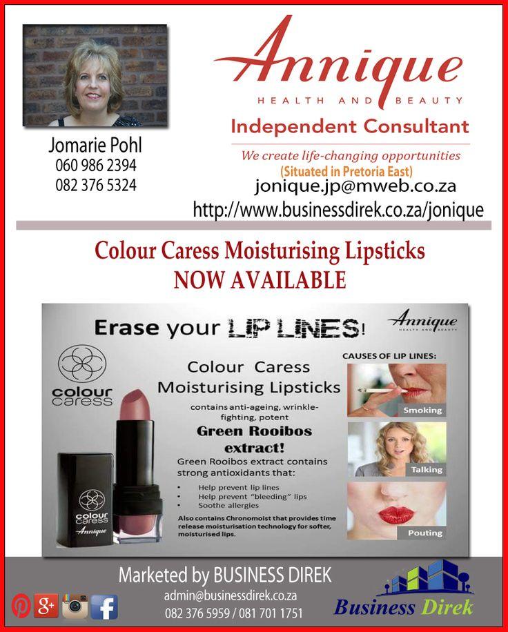 Jomarie Pohl Independent Annique Consultant  (East of Pretoria) https://www.facebook.com/Jonique-Rooibos-Independent-Annique-Consultant-591233681005747/?fref=ts http://www.businessdirek.co.za/jonique #annique #skin #supplements