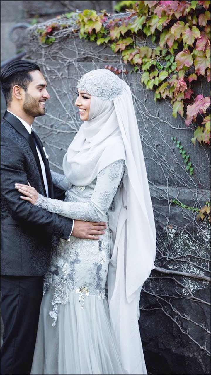 #bridal #wedding #muslimcouple