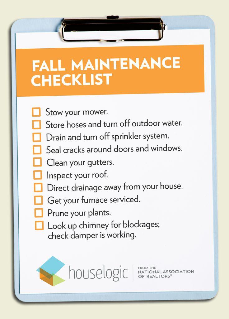 40 Best Fall Winter Maintenance Images On Pinterest
