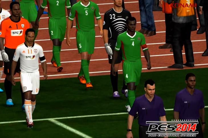 Have you experienced any problems with the PES 2014 on PS3, Xbox 360 or PC? It would be good to see what needs a fix in the next patch.