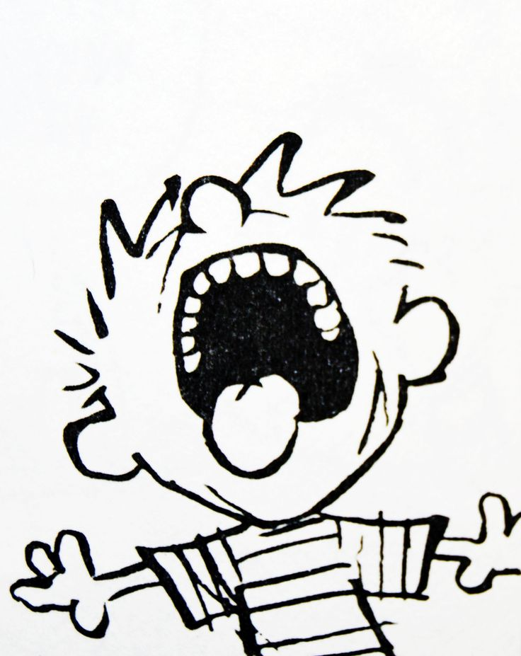 "Calvin and Hobbes QUOTE OF THE DAY: ""Life's a lot more fun when you aren't responsible for your actions.""  ― Bill Watterson"