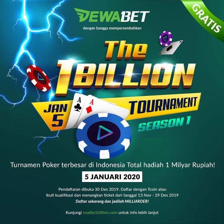 Tournament Poker Terbesar Di Indonesia Total Hadiah 1 Milyar Rupiah Poker Tanggal Hadiah
