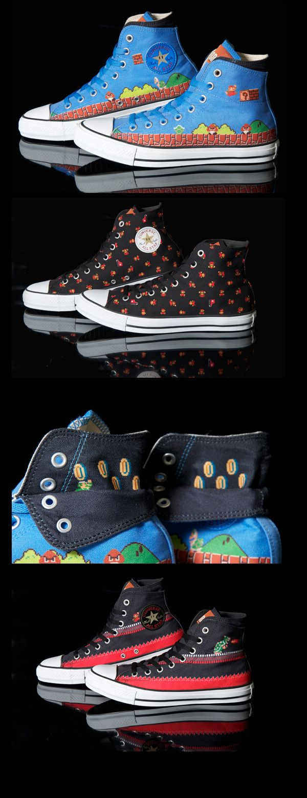 More Mario - The Converse All Star Super Mario Bros. Sneakers