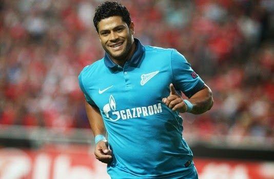 Blog Esportivo do Suíço: Hulk comemora 50º jogo no Campeonato Russo com goleada