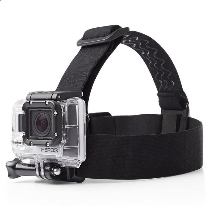 Orbmart Elastic Adjustable Head Strap Mount Headstrap Belt For Gopro Go Pro Hero 4 3 3  2 SJ4000 SJCAM Xiaomi Yi Sport Camera
