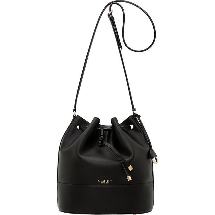 Matilda Hobo Bucket Bag in Black | Oroton
