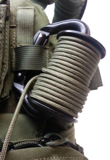 Paracord rope reel