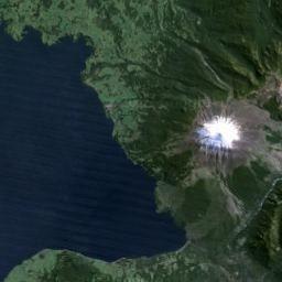 Mapa de Lago Llanquihue y ubicación geográfica satelital