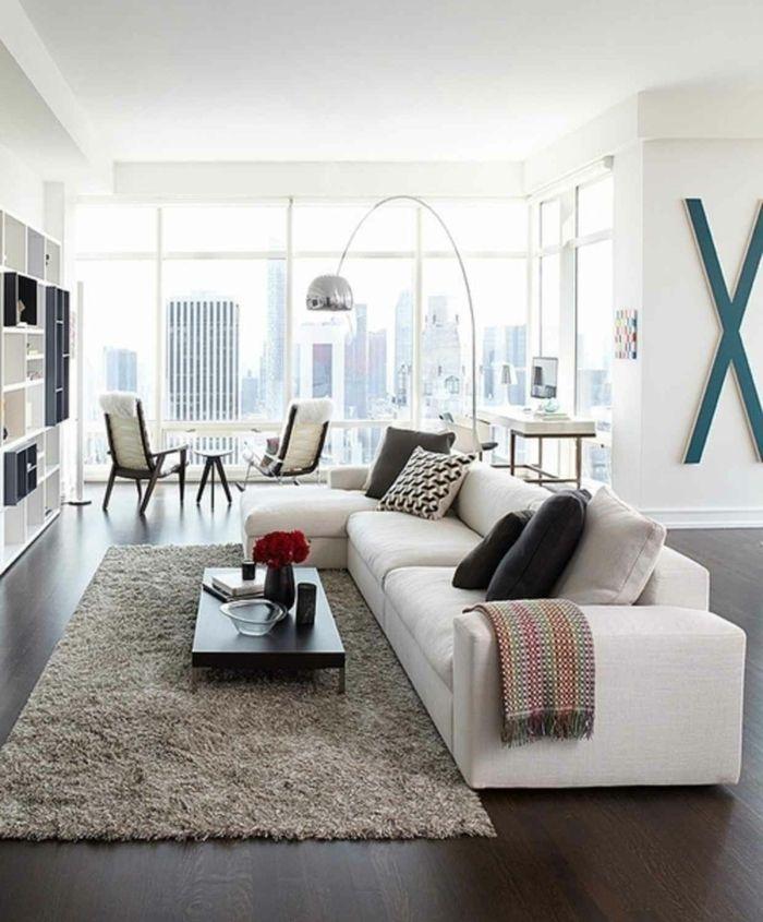 ▷ 1001 + ideas sobre decoración salón gris y blanco ...