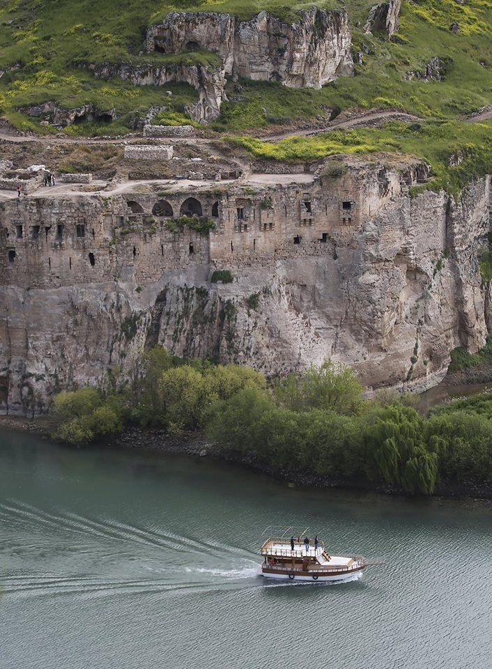 Gaziantep İli, Yavuzeli İlçesi, Kasaba köyünün yakınında bulunan Rumkale