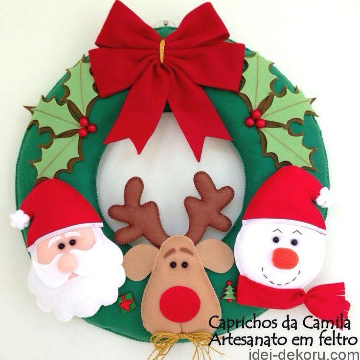 """Читайте також також Різдвяні віночки з лози 25 фото Білий колір в Новорічному декорі Ягідний декор Святкові бірочки Пряничний чоловічок. Вишита новорічна прикраса. Схема """"Смачні"""" … Read More"""