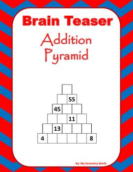 brain teasers critical thinking activities Worksheets that will test your brain they include logic and real world problems.