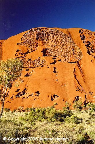 Uluru / Ayers Rock - Kata Tjuta National Park, World Heritage Area, Northern Territory, Australia