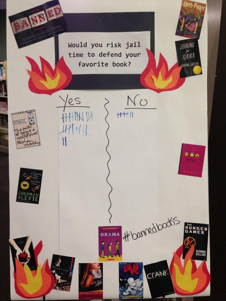 Banned Books week- A passive program