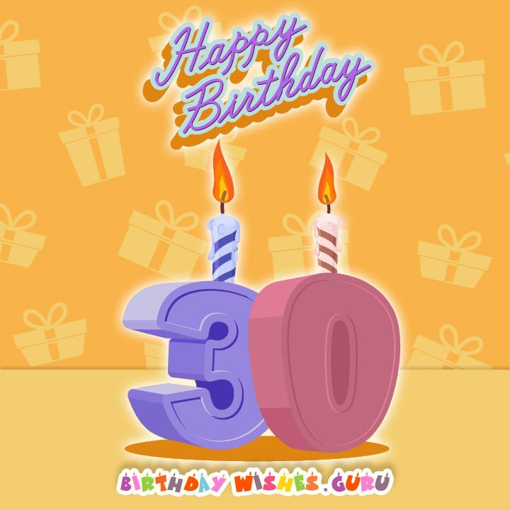25 Best Ideas About Facebook Birthday Cards On Pinterest: 25+ Best Ideas About 30th Birthday Wishes On Pinterest