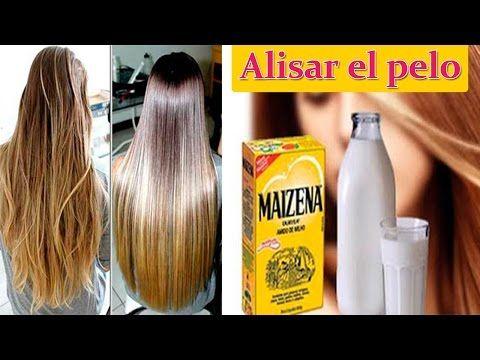 Como Alisar el Cabello Naturalmente con Crema de Maizena | Remedios Caseros para el Cabello - YouTube