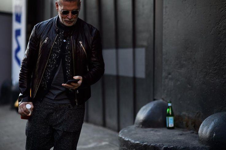 """#Le21eme x #AdamKatzSinding •  www.Le21eme.com •  Snapchat  Le21eme •  @NickWooster #NickWooster #NewYork #FW16 #Menswear #Men #FashionWeek #NYFW #NYC…"""