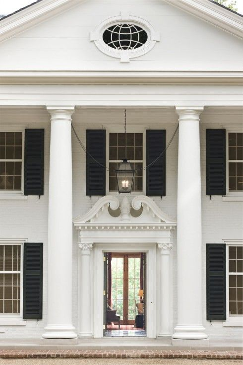 Classic columns home pinterest columns southern for Columns for homes
