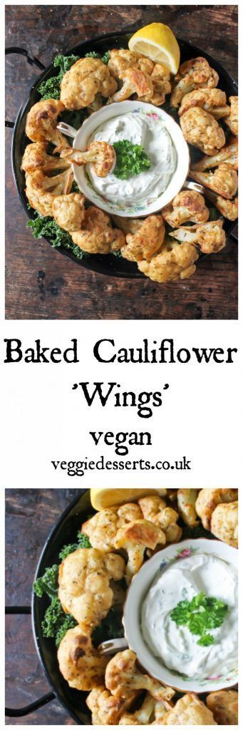 5434 best best of british food bloggers uk images on pinterest baked cauliflower wings with herb and garlic dip veggie desserts blog these easy vegan forumfinder Image collections